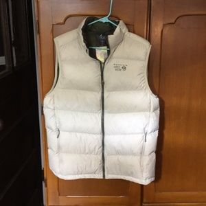 Mountain Hardwear ratio down men's vest
